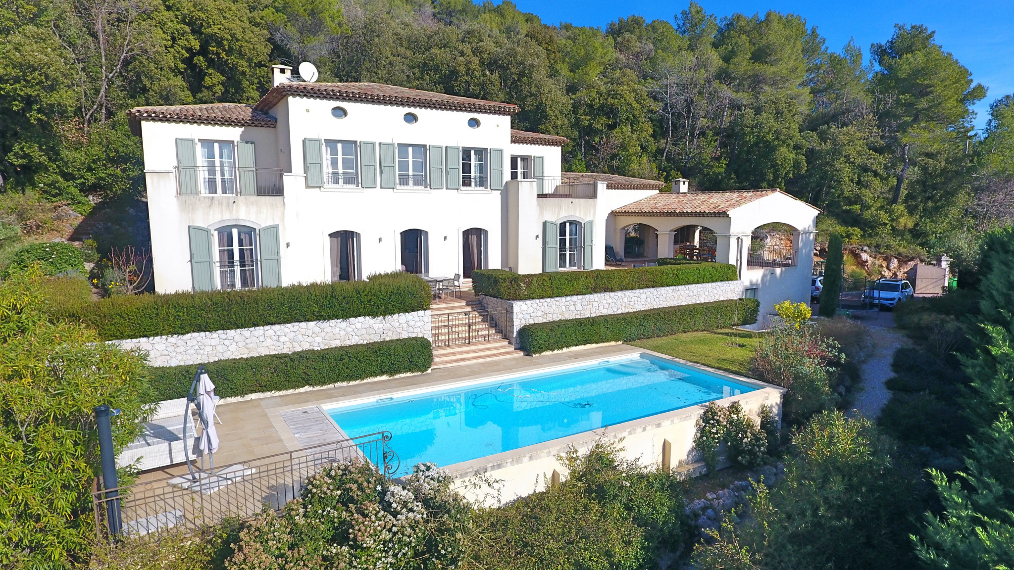 Tourrettes sur Loup - Exclusivity - Bastide of 280 m2 with panoramic sea view
