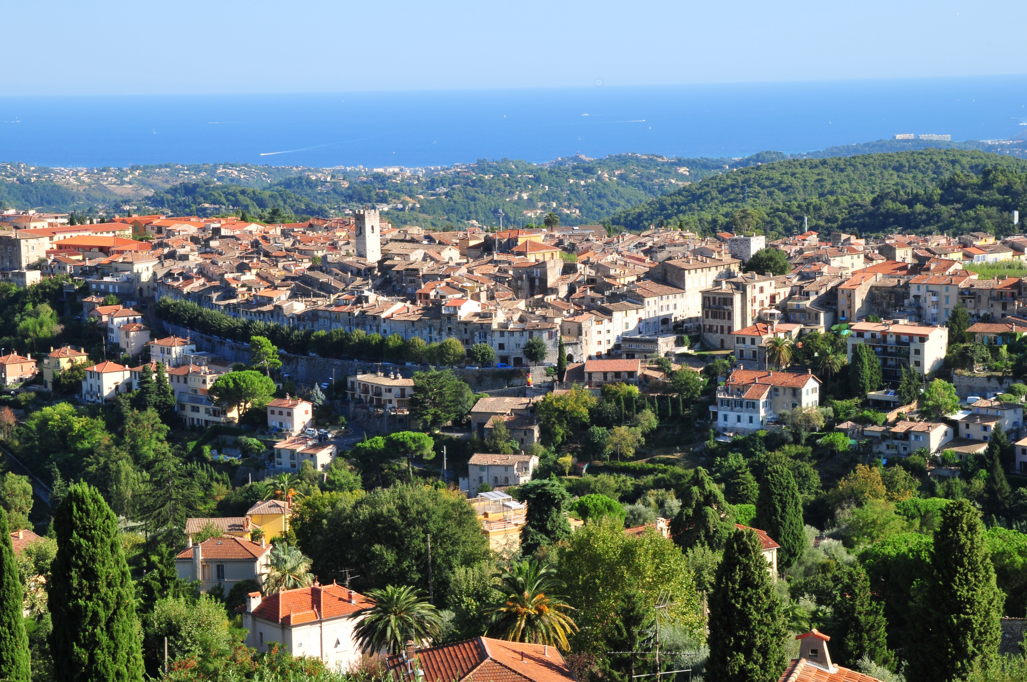 VENCE - NEAR THE CENTER - PANORAMIC VIEW