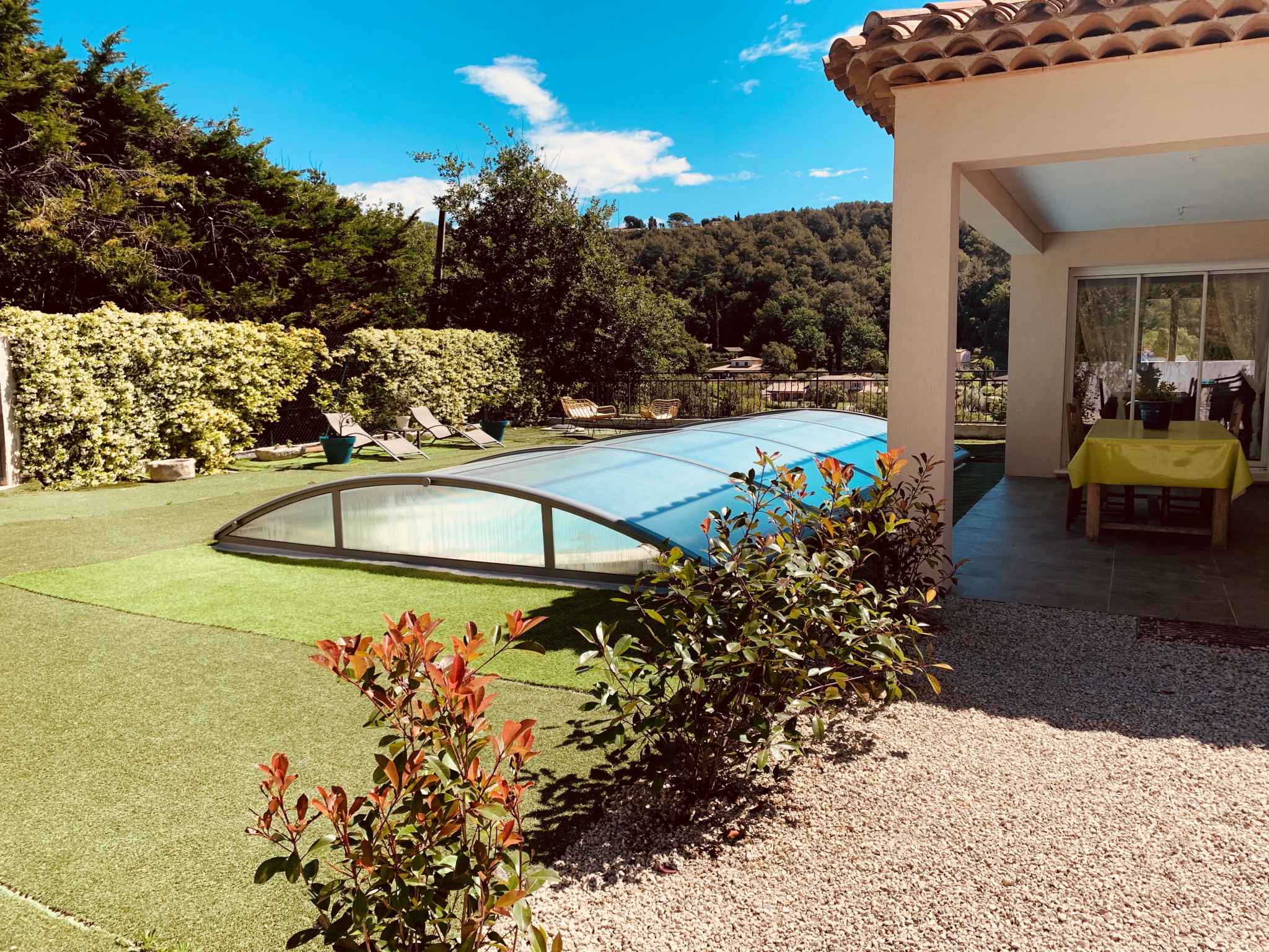 Good location of St Paul de Vence- Recently House of 195 sqm with swimming-pool