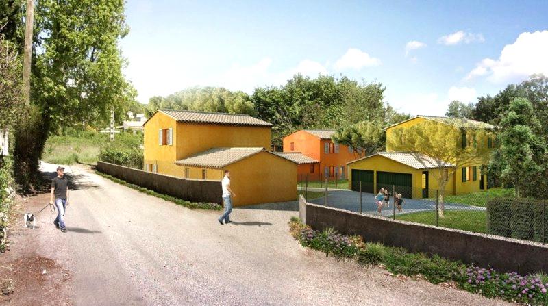 LA GAUDE - New villa, 3 bedrooms, small subdivision of 4 villas