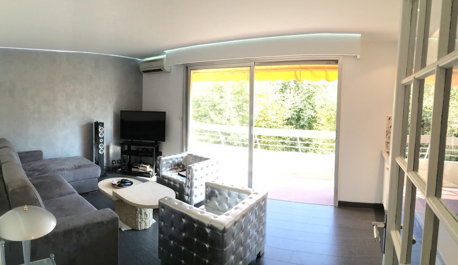 VENCE - CITY CENTER, STUDIO RENOVATED with PARK. & CAVE